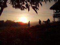 Sunset at Mishana Private Retreat Centre