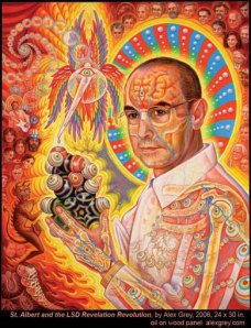 Albert Hofmann - painting by Alex Grey