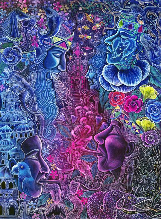 The Ayahuasca Visions of Pablo Amaringo (4/5)