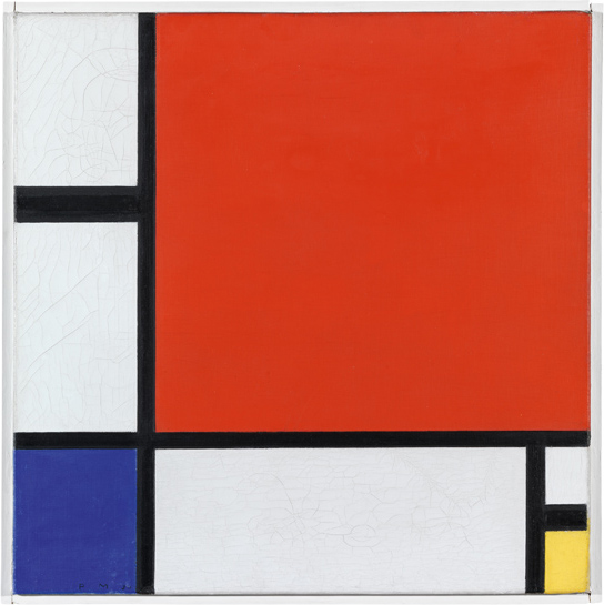Mondrian exhibition showcases the London years | Art and design | The Guardian (1/6)