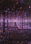 Kusama - infinity mirrored room