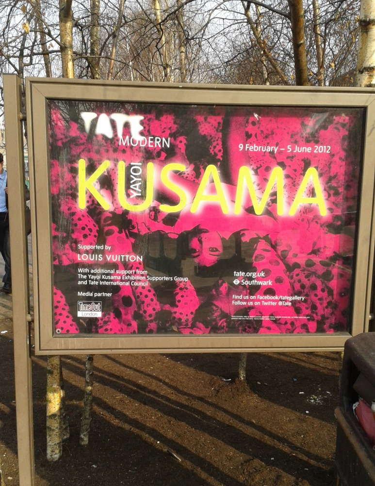 A Visit to the Yayoi Kusama Exhibition at the Tate Modern (6/6)