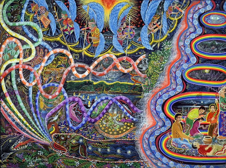 Is the Titanoboa the legendary Sachamama of Amazonian Mythology? (3/6)
