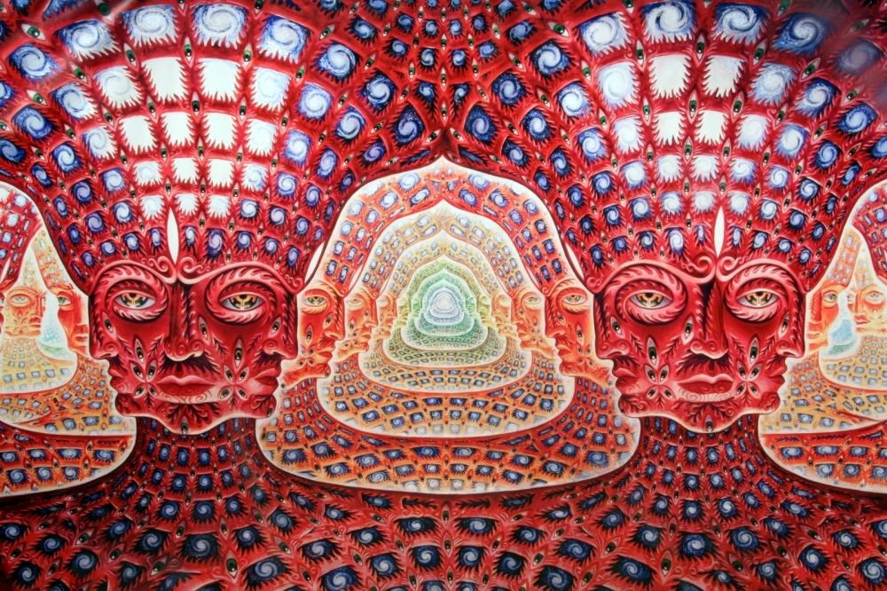 Alex Grey: The Net of Being. Forthcoming Nov 2012