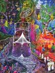 Barco Fantasma by Pablo Amaringo